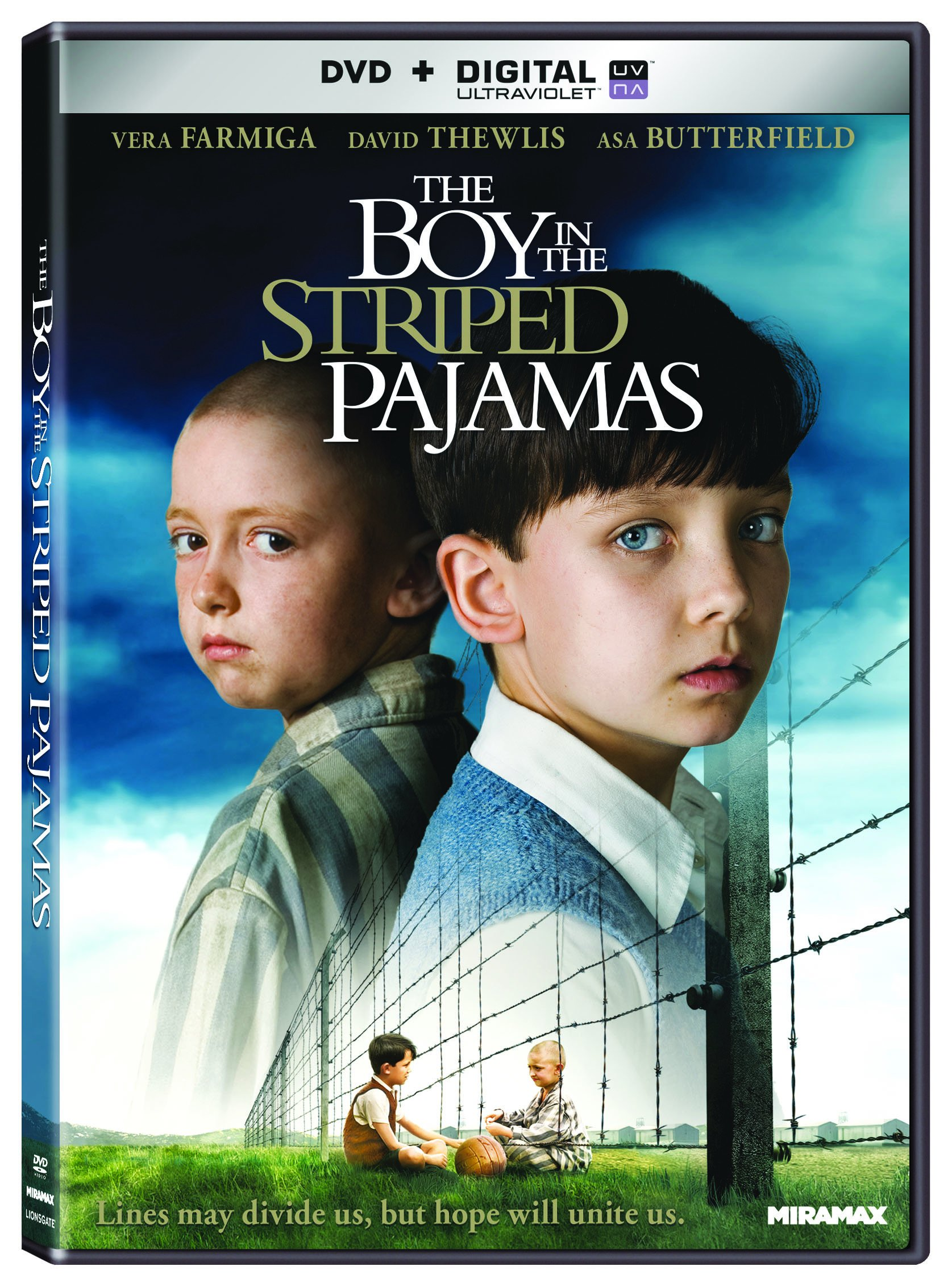 DVD : The Boy in the Striped Pajamas (Widescreen)