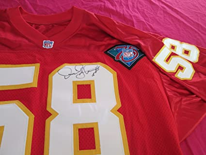 reputable site fc44e 239f8 DERRICK THOMAS Signed 1994 Style KC Chiefs Jersey -PSA ...