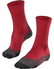 FALKE Damen TK2 Trekking Socken - Wollgemisch, 1 Paar, versch. Farben, Größe  35-42 - hohe Feuchtigkeitsaufnahme, schützt vor Kälte, leichte Polster