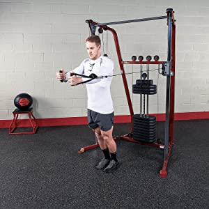 Best Fitness by Body-Solid BFFT10R Functional Trainer and Cable Machine with 190 Lb. Weight Stack