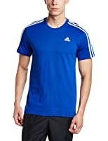 adidas Men's Round Neck Cotton T-Shirt