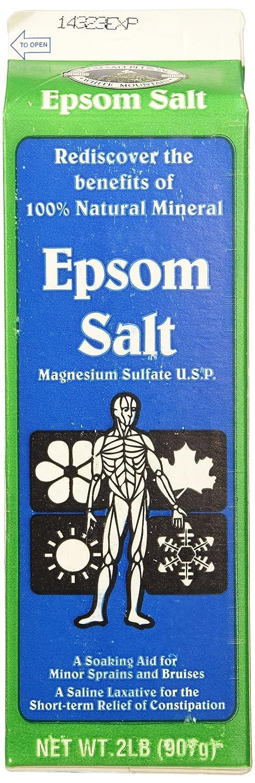 White Mountain 100% Natural Epsom Salt 2Lb (907g)