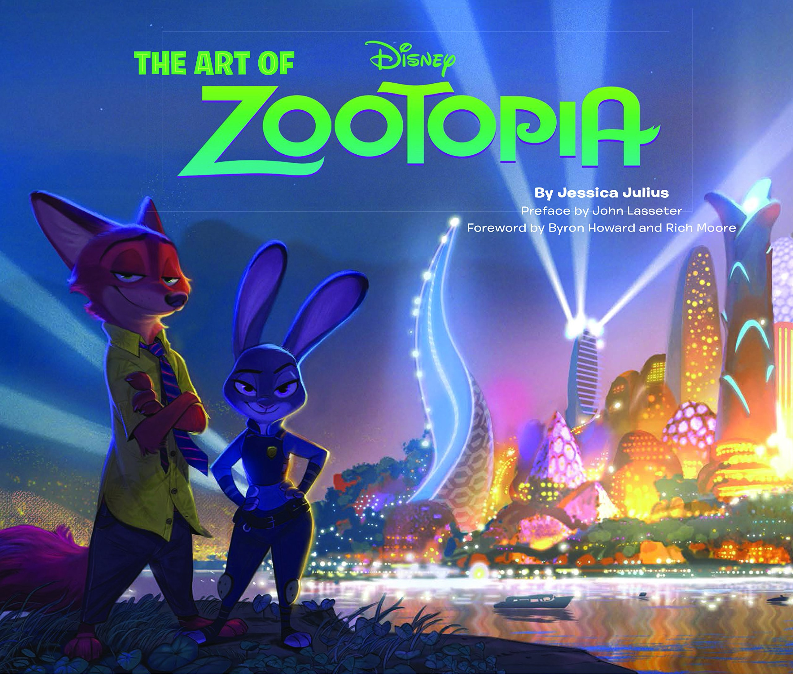 Merch Review : The Art of Zootopia by Jessica Julius