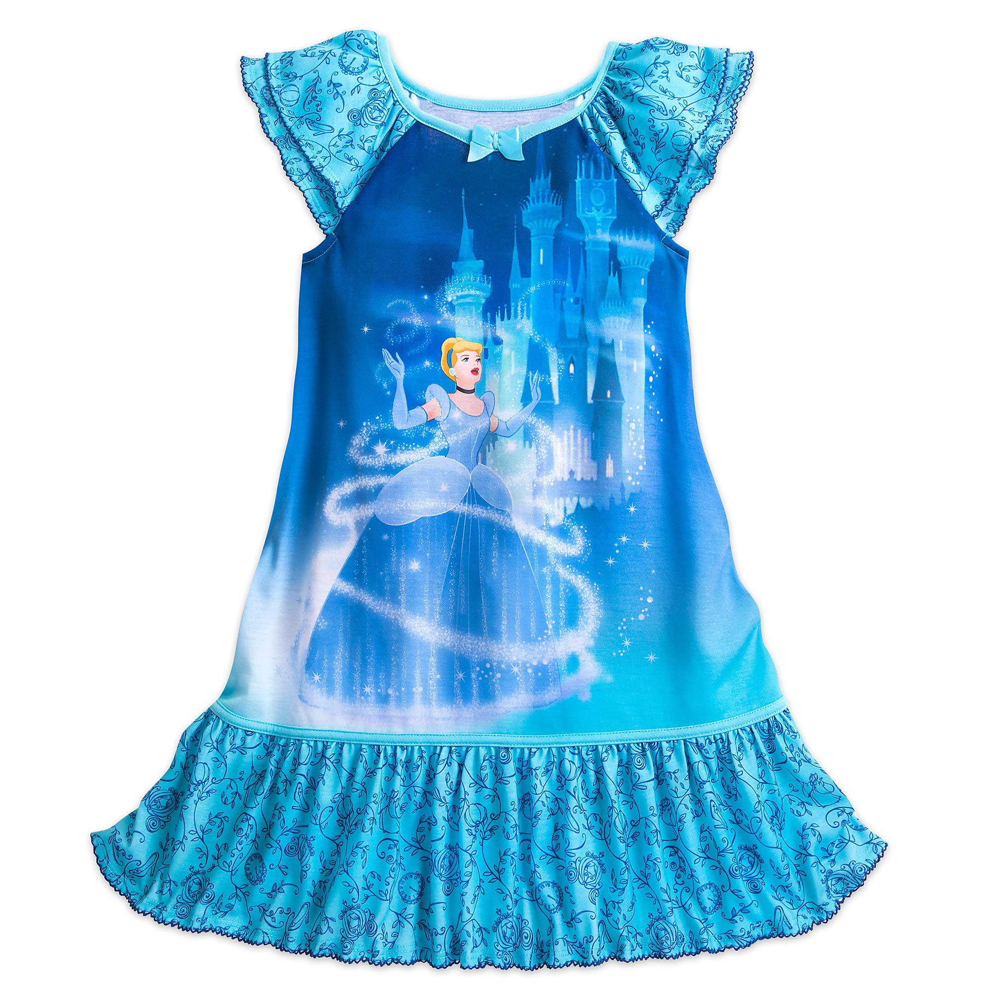 Disney Cinderella Nightshirt for Girls Size 9/10 Multi by Disney (Image #1)