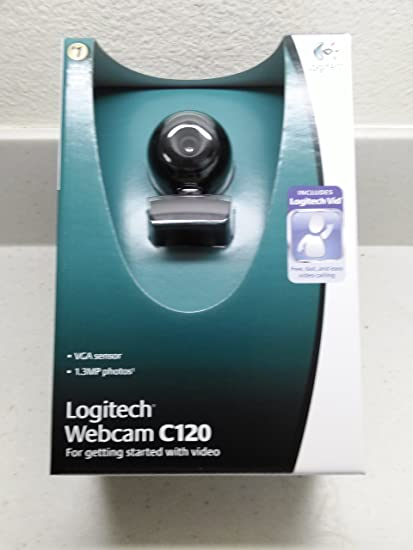 LOGITECH C120 WEBCAM WINDOWS 7 64BIT DRIVER
