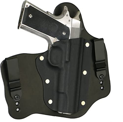 "FoxX Holsters Colt 1911 5"" Government (No Rail) in The Waistband Hybrid Holster Tuckable, Concealed Carry Gun Holster"