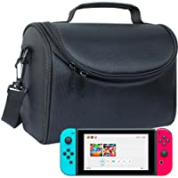 Butterfox Nintendo Switch Carry-all Bag Case with Storage for Dock, AC Adapter and Switch Pro-controller - Black