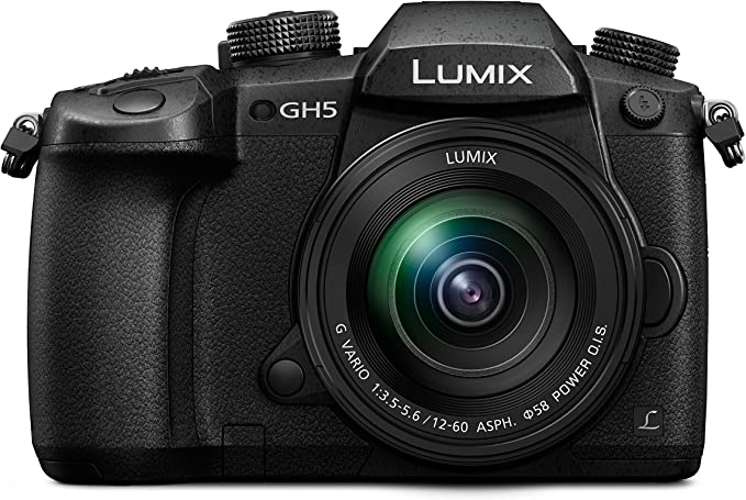Panasonic Lumix DC-GH5MEG-K - Cámara Digital de 20.3 MP (Live Mos, 5184 x 3888 Píxeles, Full HD, Pantalla táctil), Color Negro - [Versión importada]