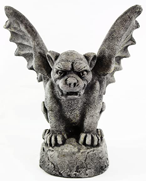 Amazon Com Gothic Gargoyle Statue Home And Garden Statues Cement