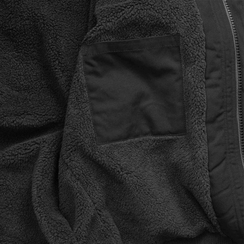 giacca invernale con cappuccio e fodera Brandit Grizzly