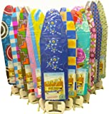 Deluxe Wide Metal Ironing Board Iron Rack 4 Step Height Adjustable New Assorted Colors & Designs (Small)