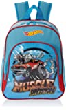 Hot Wheels Blue Children's Backpack (Age group :3-5 yrs)