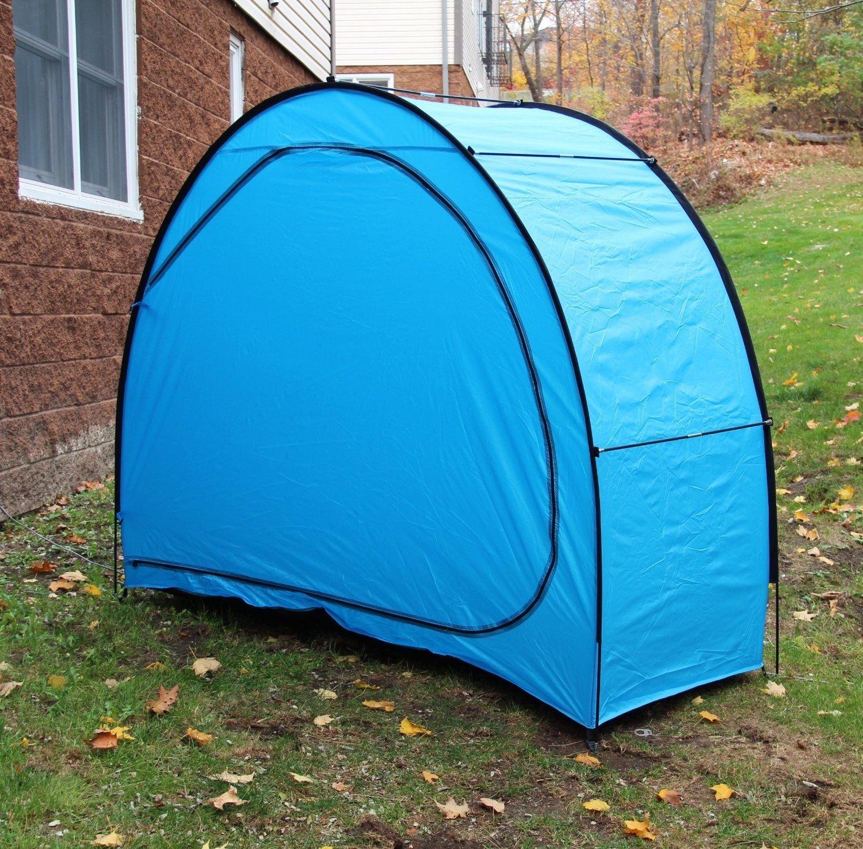 1 x para bicicleta de montaña impermeable y tiendas de campaña batería de coche retráctil portátil lluvia Multicolor al aire libre, azul: Amazon.es: ...