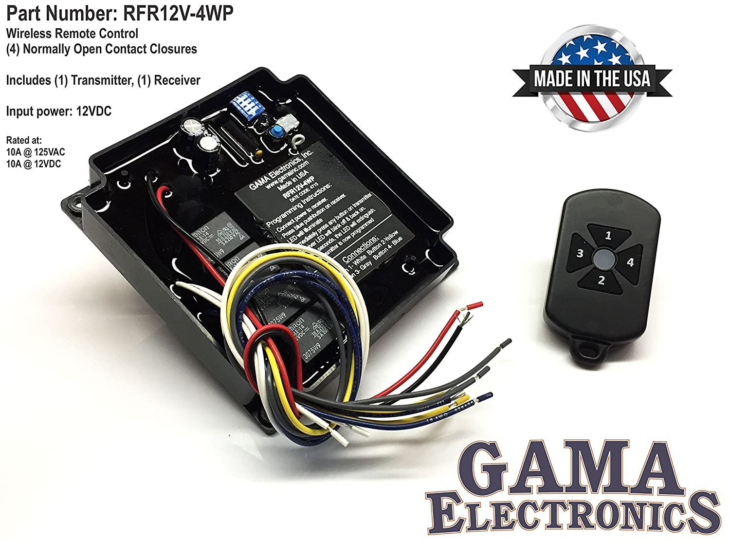 Re Rf Module Receiver And 3 Buttons Transmitter
