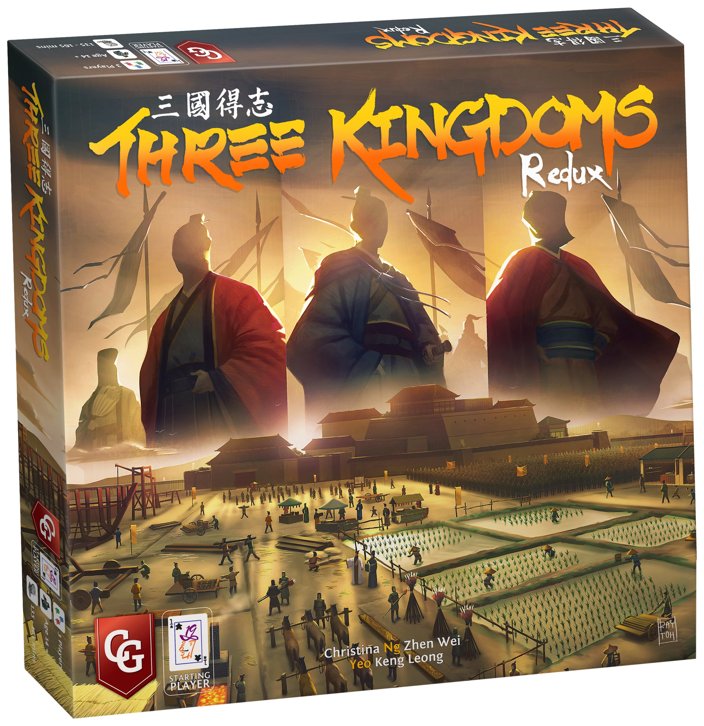 Three Kingdoms Redux Board Games