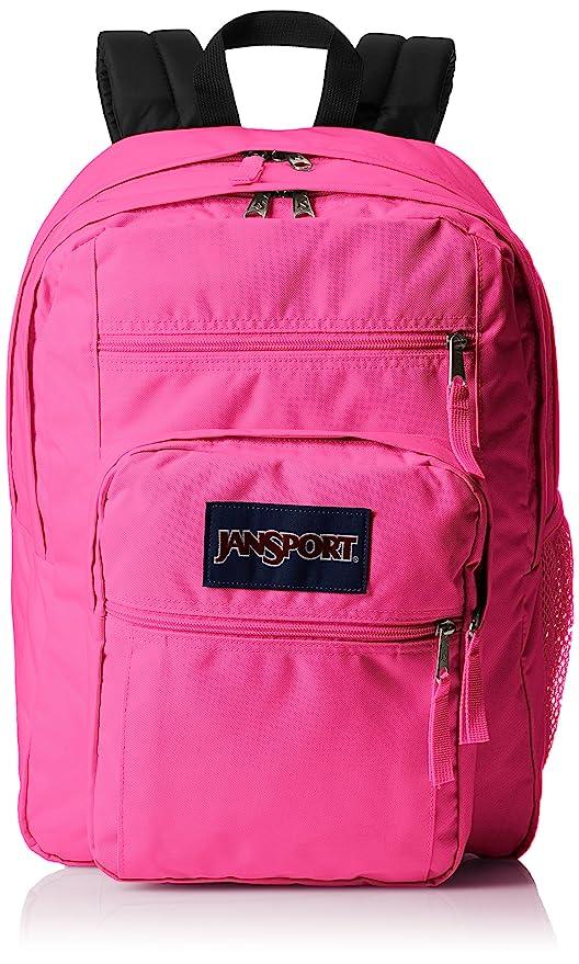 c5682d0c9 Amazon.com: JanSport Big Student Backpack - Ultra Pink - Oversized ...