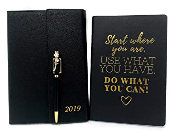 Amazon.com : Planner 2019, Agenda 2019, Personal Organizer ...