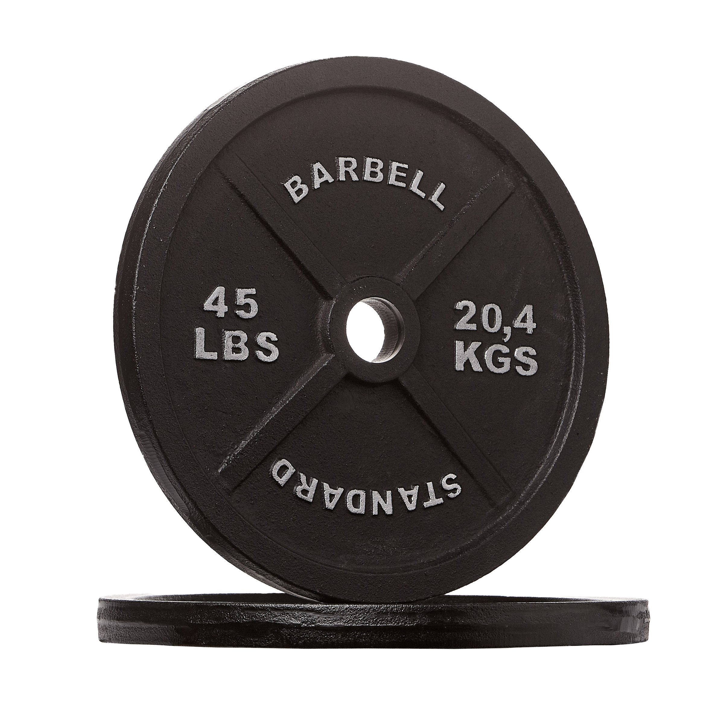 Rep Iron Plates, 45 lb Pair