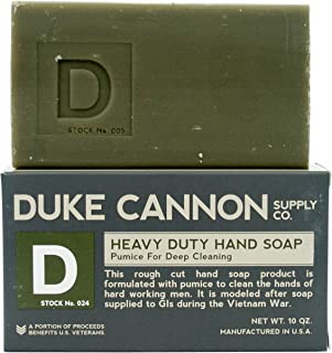 product image for Duke Cannon Supply Co. Heavy Duty Hand Soap, 10 Ounce, Pumice For Deep Cleaning