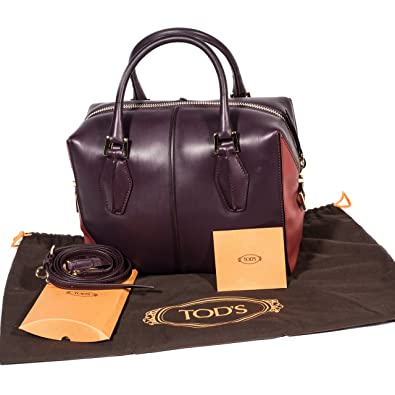 889b19f4b286 TOD S D CUBE BAG MADE OF SOFT LEATHER  Handbags  Amazon.com