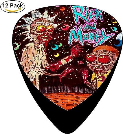 Rick y Morty púa de guitarra Bass púa Pick Set £ ¬ fashion Cool ...