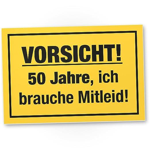 DankeDir!. 50 años - Brauche Compasión - Letrero, plástico ...