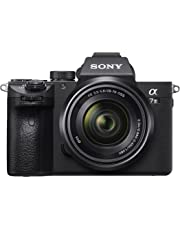 Sony Alpha 7M3 E-Mount Vollformat Digitalkamera ILCE-7M3 (24,2 Megapixel, 7,6cm (3 Zoll) Touch-Display, Exmor R CMOS Vollformatsensor, XGA OLED Sucher, 2 Kartenslots, inkl. SEL-2870 Objektiv) schwarz