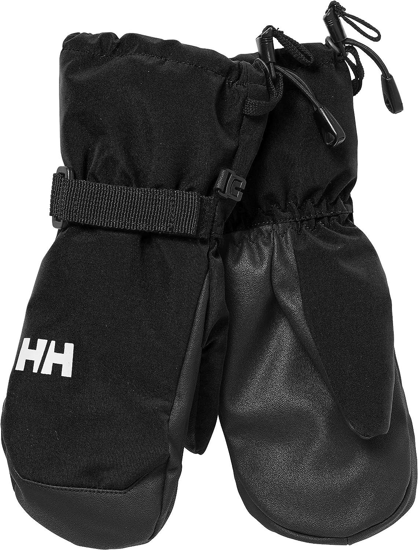 Ni/ños Helly Hansen K Rider Mittens Guantes One size Black