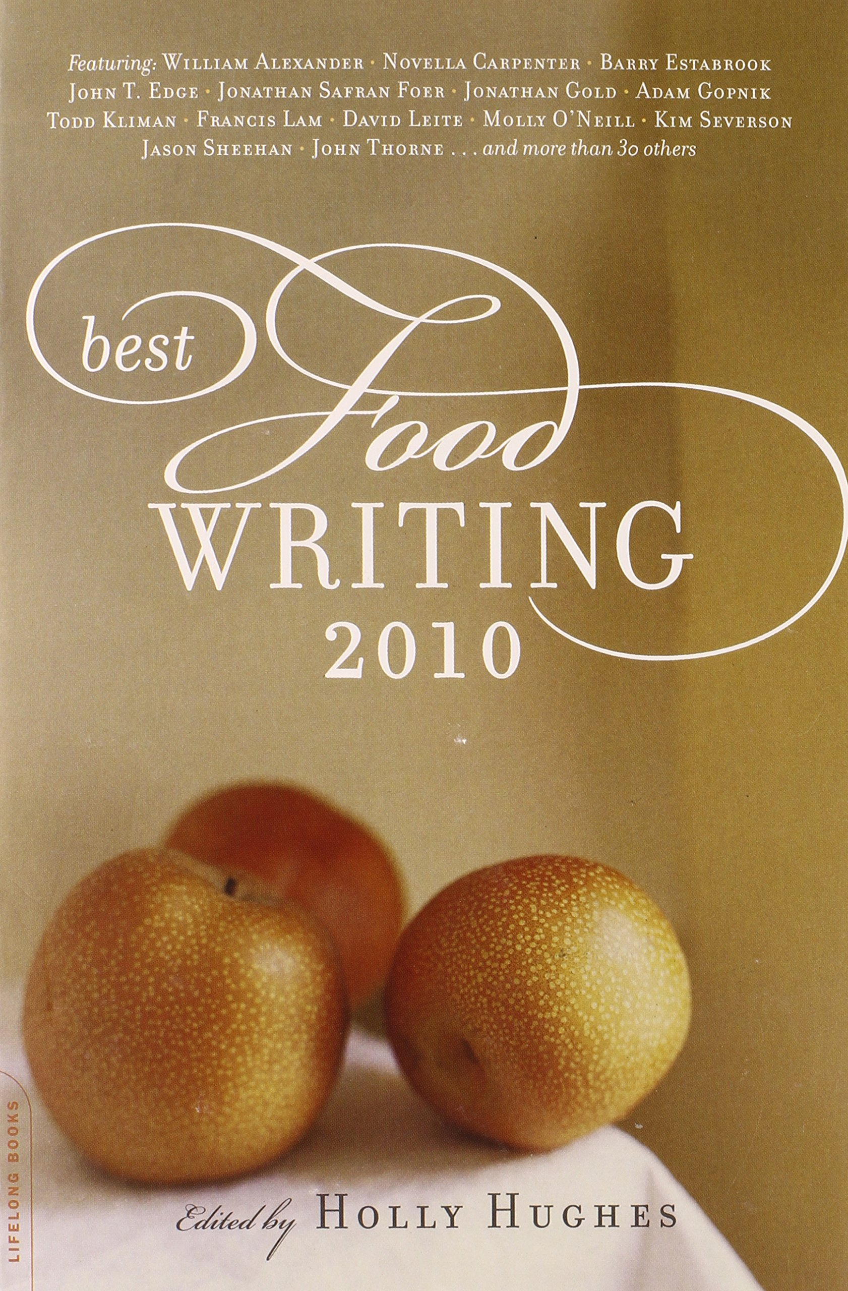 Best food writing books