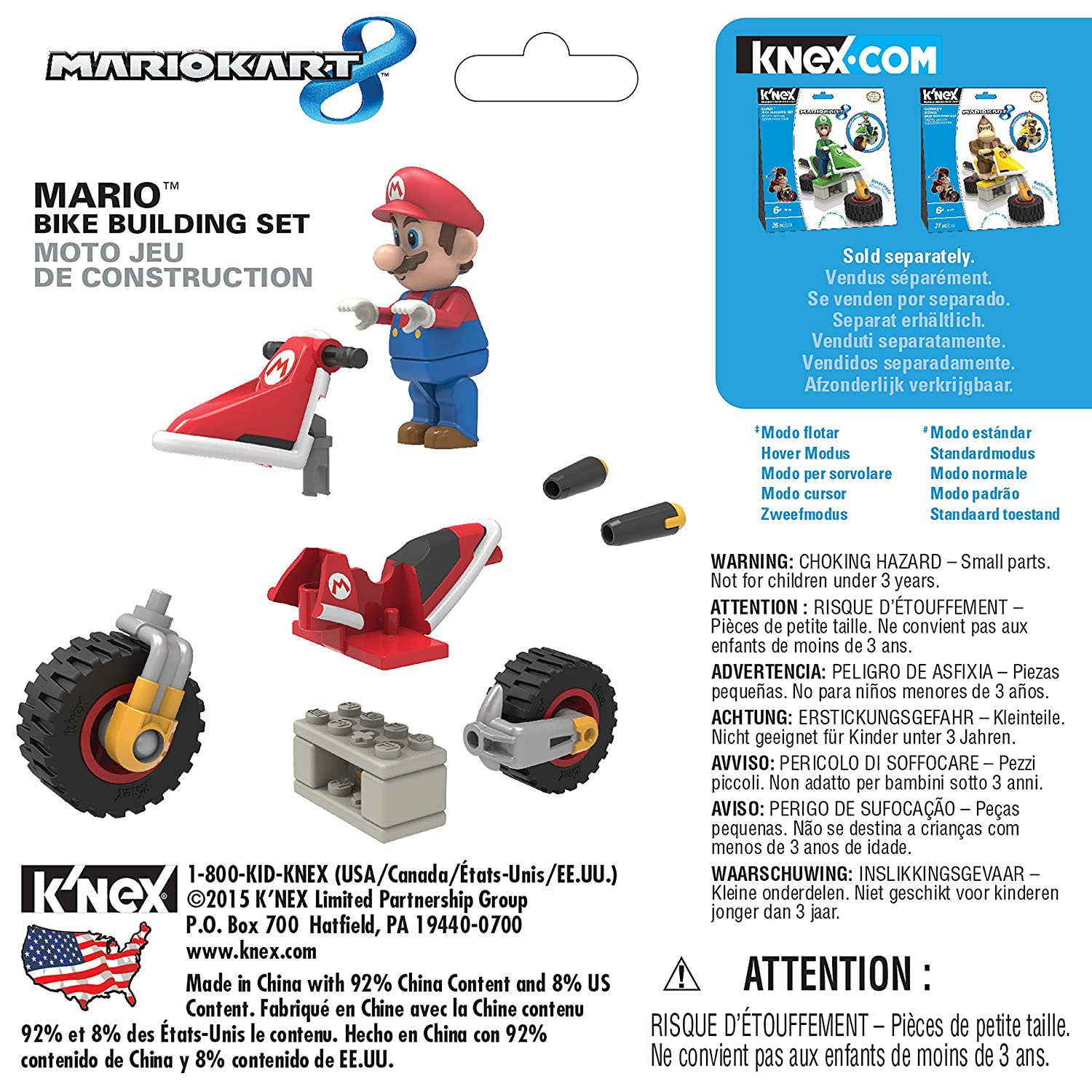 Mario kart 8 for sale - Buy Knex Mario Kart 8 Bike Building Set Online At Low Prices In India Amazon In