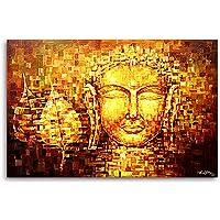 tamatina Junkyard lona Pintura, la Buda de oro, El budismo, tibetano arte