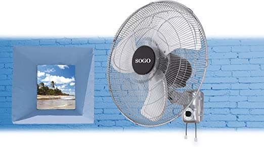Sogo SS-3095 - Ventilador de pared industrial de 45,72 cm: Amazon ...