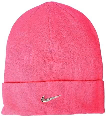 Nike Swoosh - Gorro Infantil (Metal), Infantil, 825577, Racer Pink/