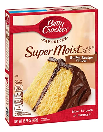 Image Unavailable Not Available For Color Betty Crocker Butter Recipe Yellow Cake