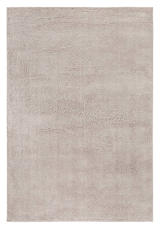 Andiamo Shaggy Teppich Cala Dor, weich, Kunstfaser, strapazierfähig Pflegeleicht, Farbe Beige, Größe 160 x 230 cm