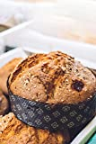Mini Tart Pan, 25 Mini Pie Pans Brown for Small