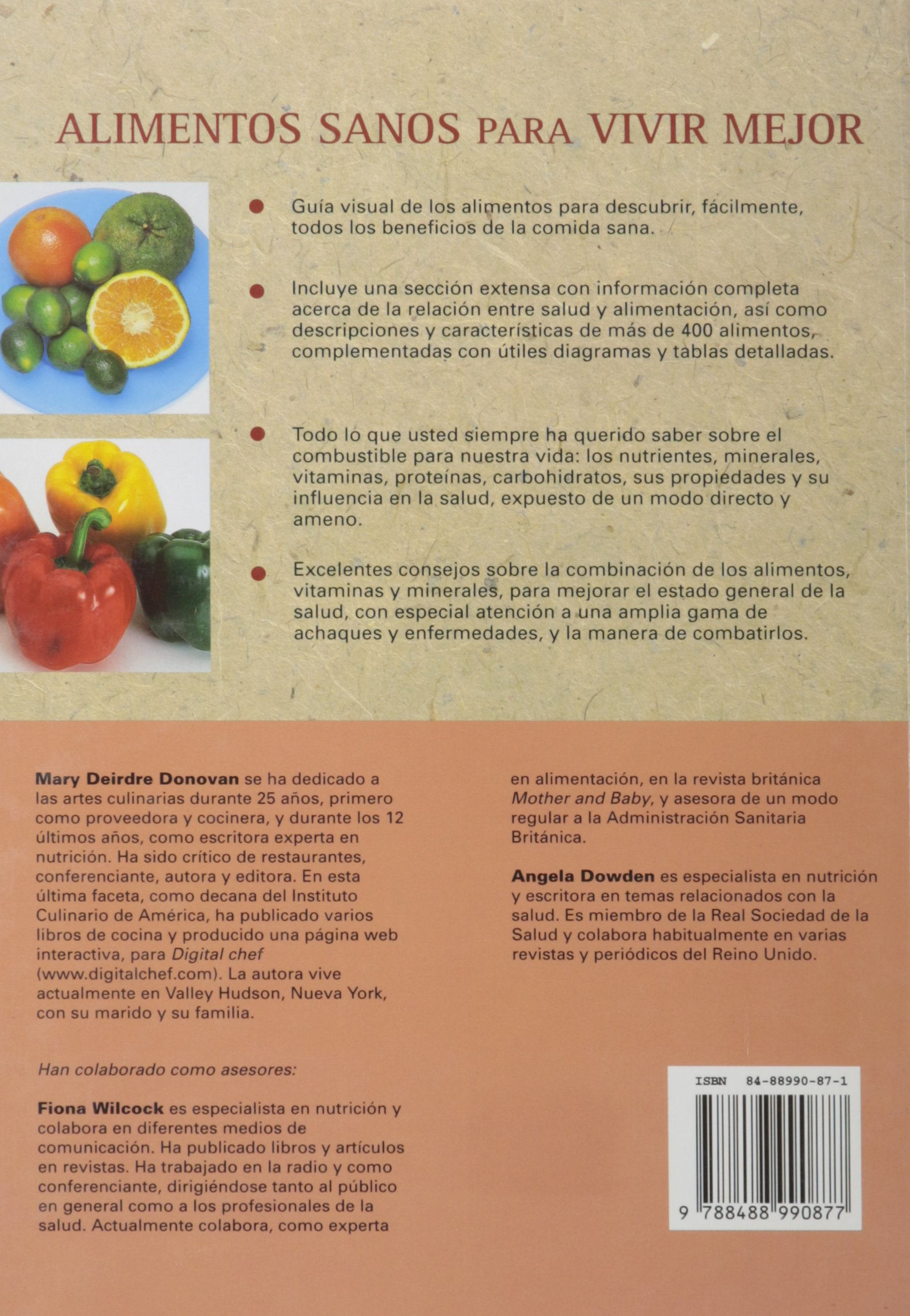 Alimentos Sanos Para Vivir Mejor (Spanish Edition): Mary Deirdre Donovan: 9788488990877: Amazon.com: Books
