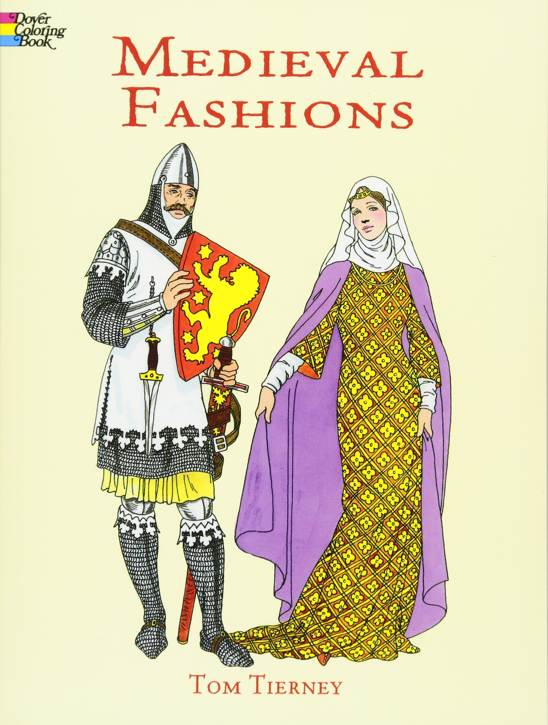 Medieval Fashions Coloring Book Dover Fashion Coloring Book Amazon