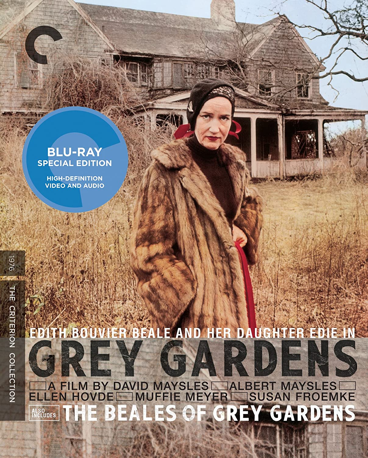Amazon.com: Grey Gardens (Criterion Collection) [Blu-ray]: Edith ...