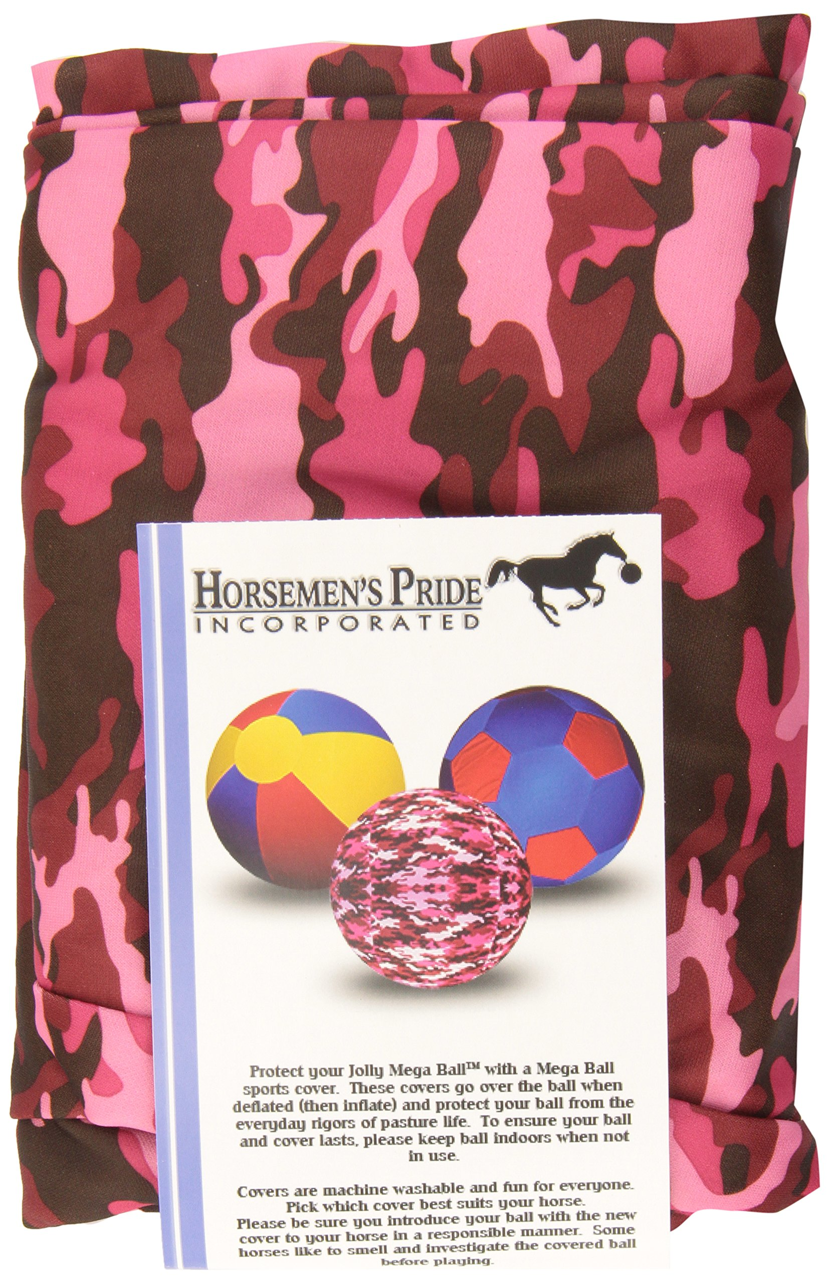 Horsemen's Pride Jolly Mega Cover for Horses, 30'', Pink Camo