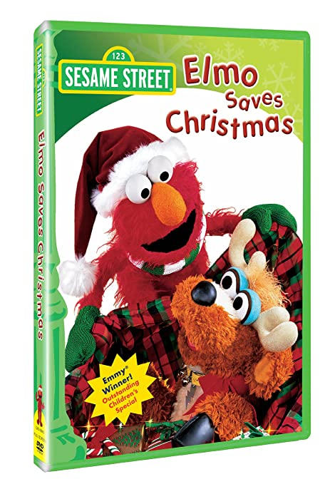 Amazon.com: Elmo Saves Christmas: Karin Young Shiel, Nancy Kanter ...