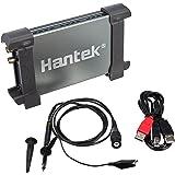 Hantek 6022BE - Osciloscopio para PC (48 Msa/s, 20 MHz, USB), color gris