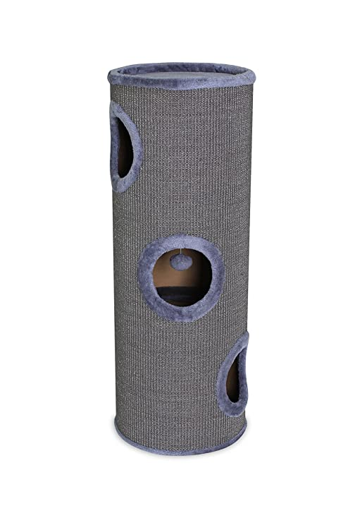 Dibea KT00932 Tonelada Torre Rascador para Gatos, Sisal, Altura, Gris
