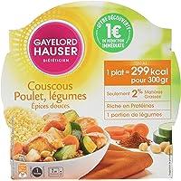 Gayelord Hauser Diététicien Plat Cuisiné Couscous aux Épices Douces 300 g - Lot de 3