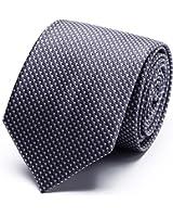 (シャンゴー)XianGuo ネクタイ 無地 ビジネス メンズ 格子柄 洗える 編み込み ジャカード織 収納ボックス付き
