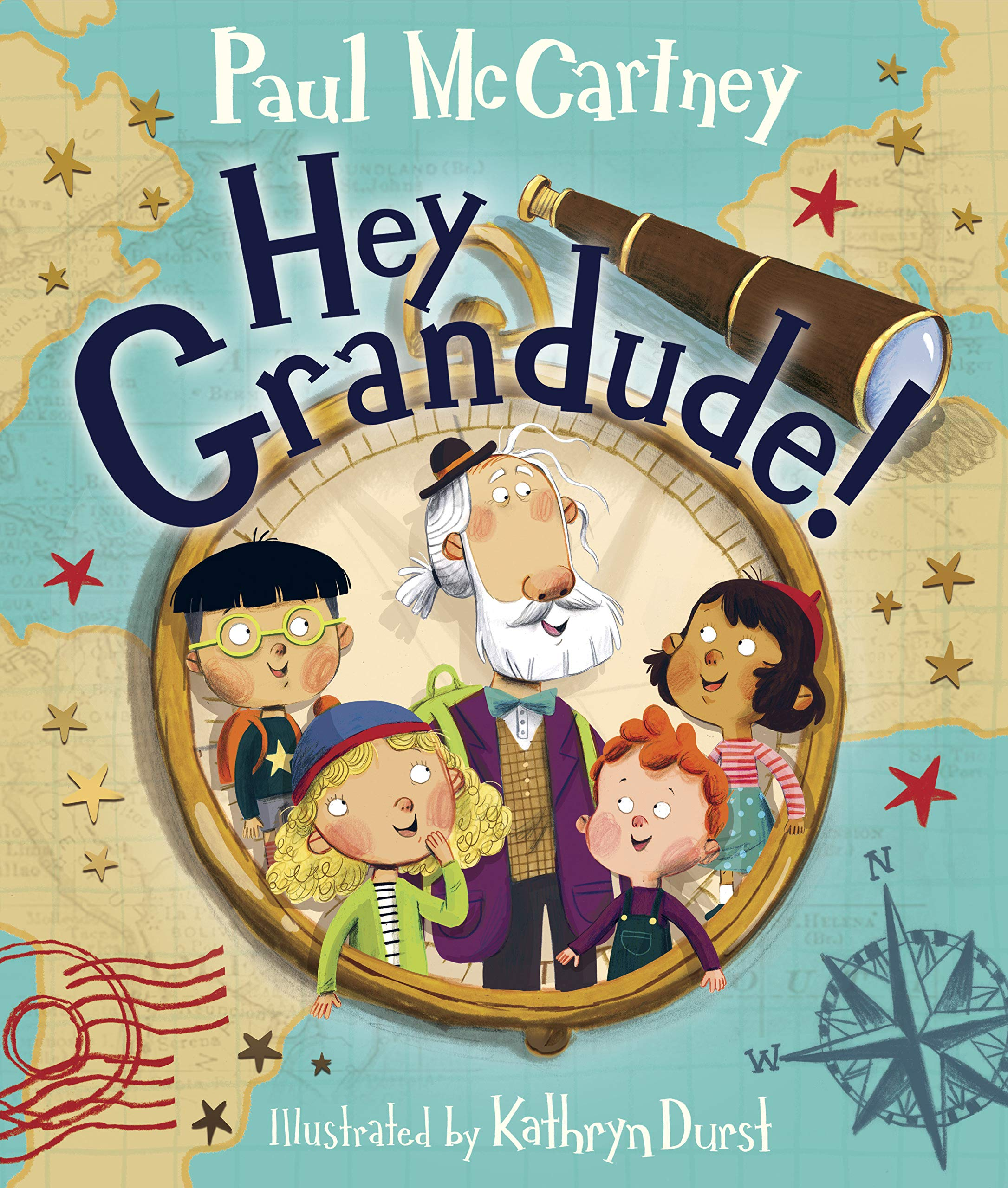 Hey Grandude!: McCartney, Paul, Durst, Kathryn: 9780525648673: Amazon.com:  Books