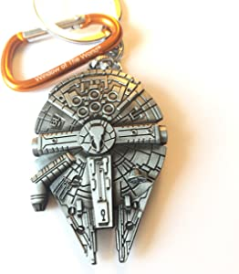 Star Wars Millenium Falcon Replica Metal Keychain