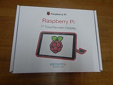 Raspberry 2473872 Pantalla táctil V2, 8MP, 7 pulgadas: Amazon.es: Informática
