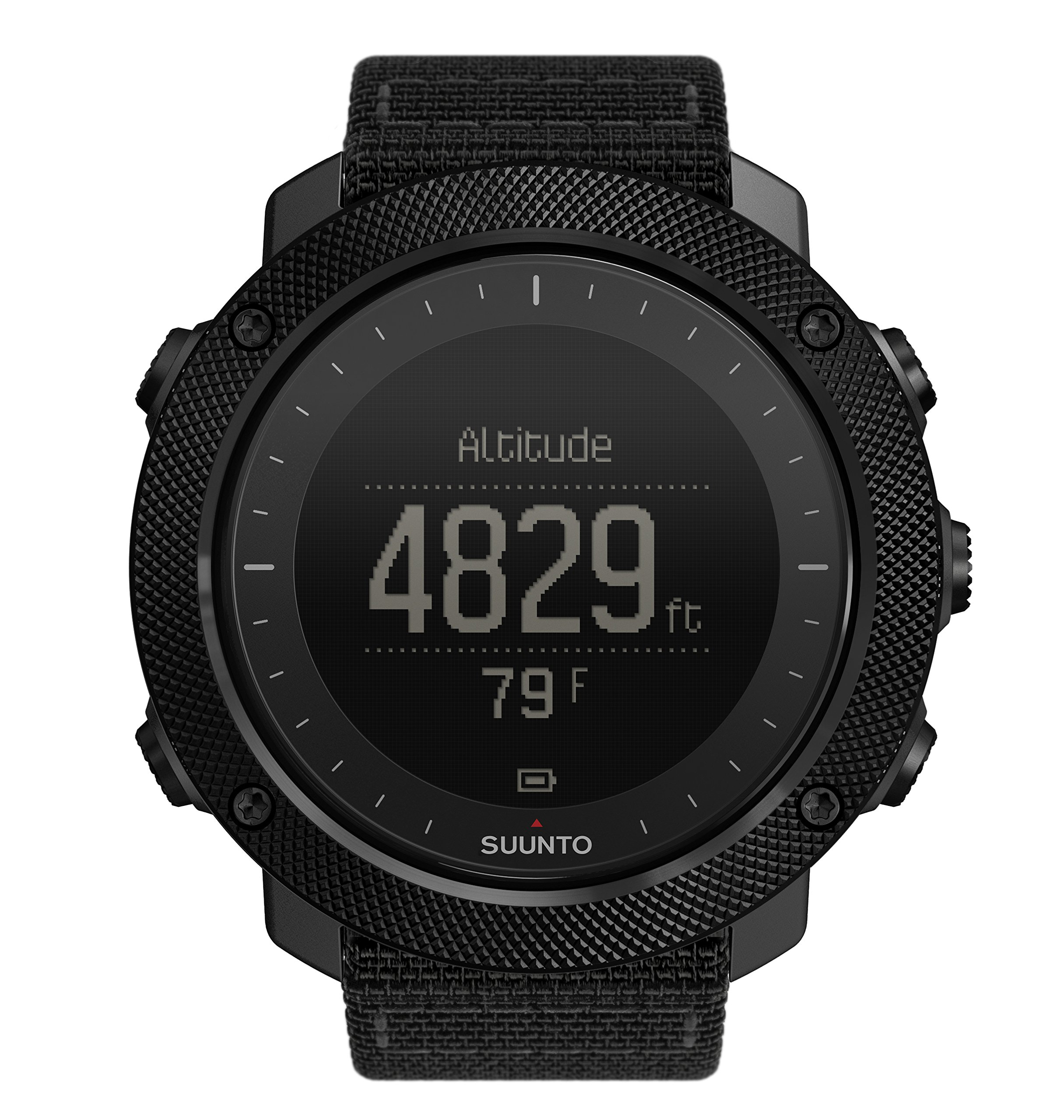 Suunto Traverse Alpha GPS/GLONASS Watch with Versatile Outdoor Functions for Fishing and Hunting and Wearable4U Ultimate Power Pack Bundle (Stealth) by Wearable4u (Image #3)