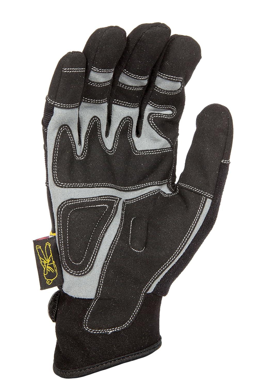 Dirty Rigger Rigger gloves, Comfort Fit m black Dirty Rigger(TM) Comfort Fit Rigger Glove DTY-COMFORGM